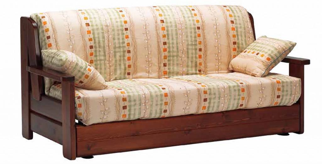 Divano letto lineare addco cucine mobili di qualit al for Divano letto 120x190