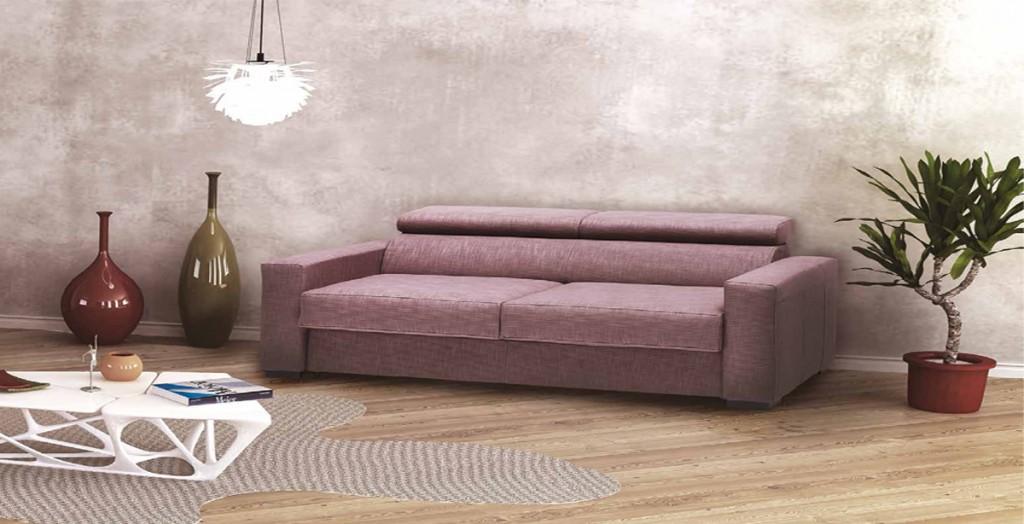 Divano letto lineare addli cucine mobili di qualit al for Divano letto 120x190