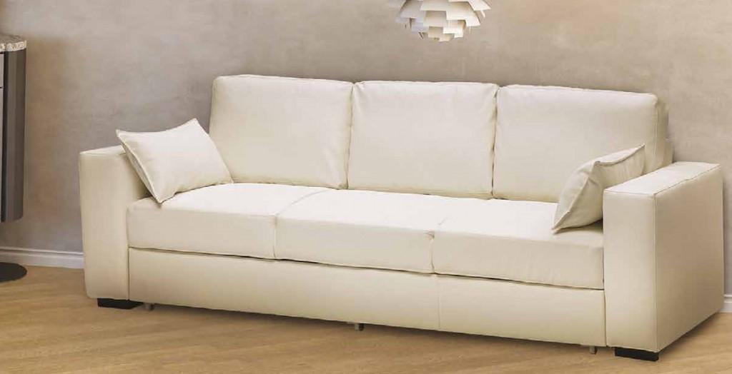 Divano letto lineare addmarsiglia3p cucine mobili di - Divano letto 160x190 ...