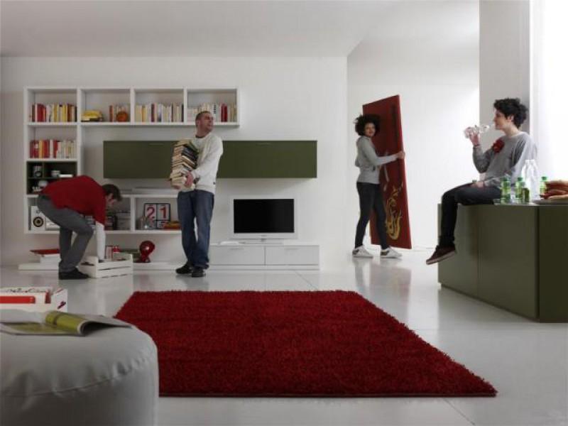 Vintage Home CREDENZA IN LEGNO LACCATA 2 PORTE+2 CASS 170X55X98H