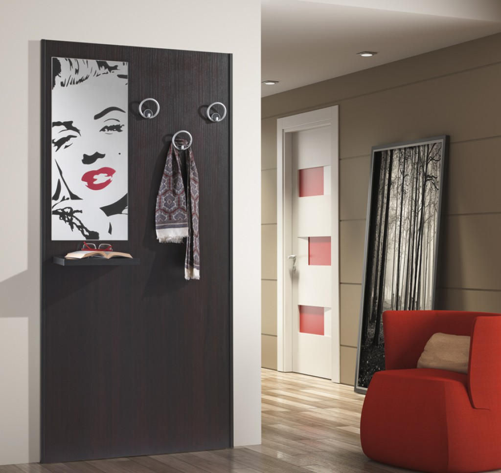 Mobile moderno ingresso mobili ingresso con specchio fl - Porta abiti ingresso ...