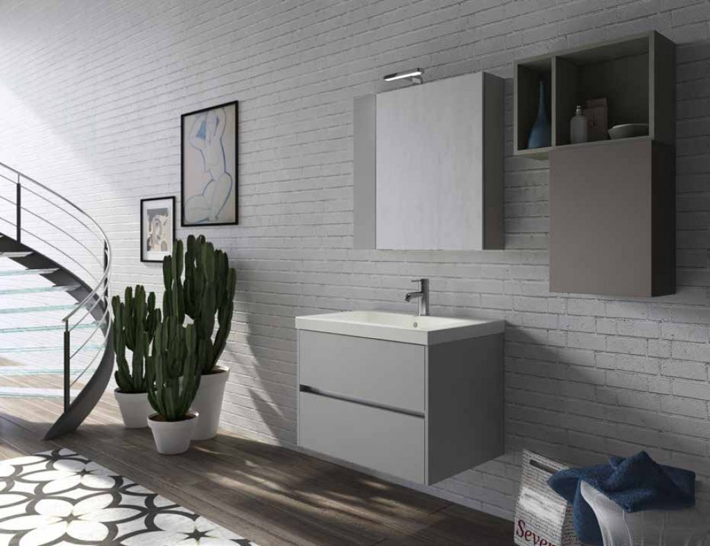 Bagno moderno cr h601 cucine mobili di qualit al giusto prezzo milano monza brianza - Cucine qualita prezzo ...