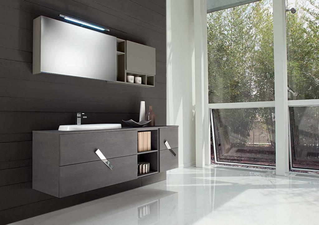 Bagno moderno cr m01 cucine mobili di qualit al giusto prezzo milano monza brianza - Cucine qualita prezzo ...