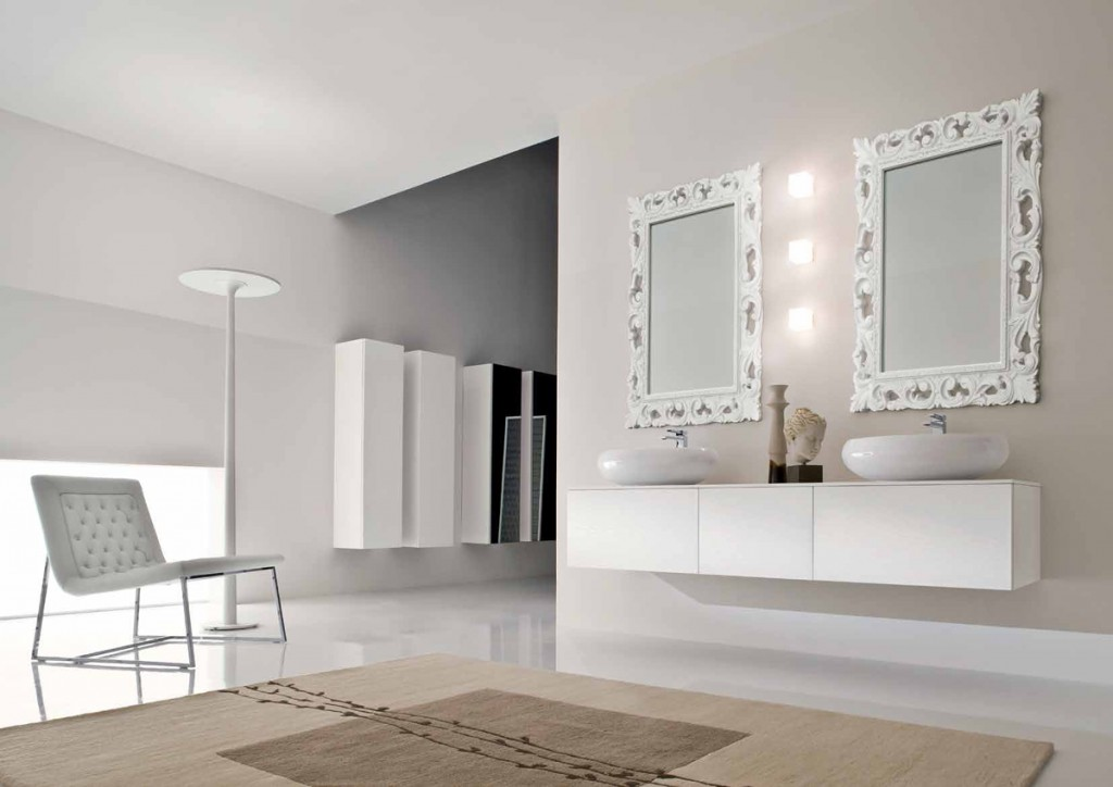 Bagno moderno cr m05 cucine mobili di qualit al for Mobili cucine qualita
