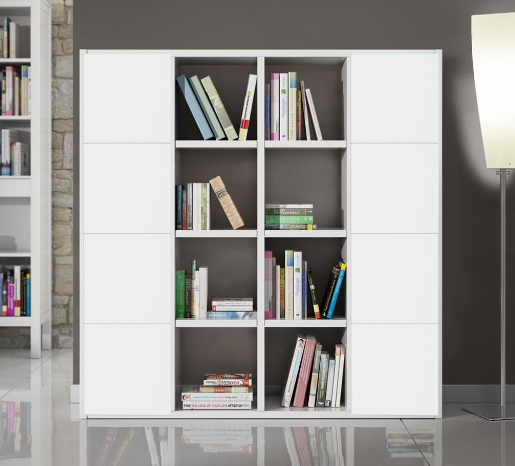 Libreria moderna et568 cucine mobili di qualit al giusto prezzo milano monza brianza - Mobile libreria con ante ...