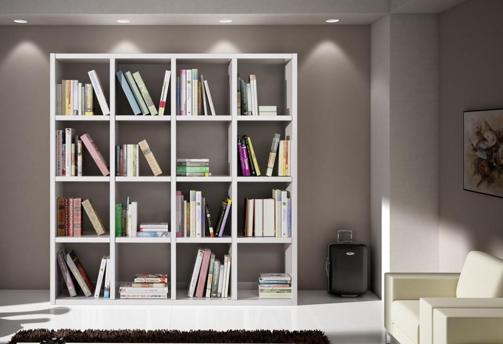 Libreria moderna et568 cucine mobili di qualit al - Libreria camera ...