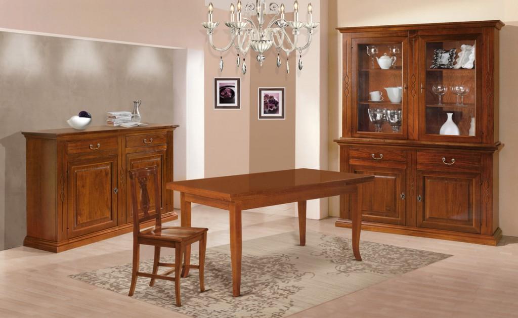 Sala completa classica et596 et597 et486 et489 cucine mobili di qualit al giusto prezzo - Mobili da anticamera che riflettono ...