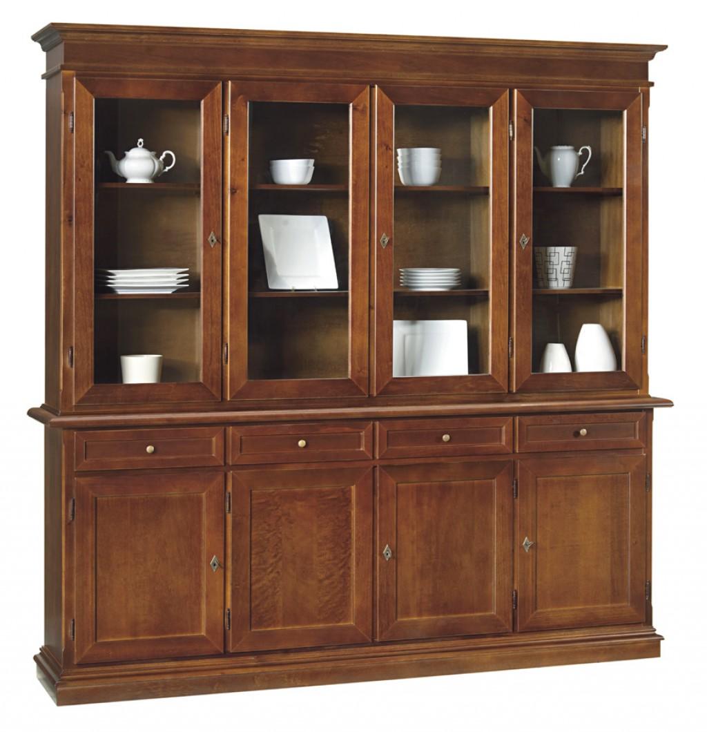 Cristalliera classica et379 cucine mobili di qualit - Iva bonus mobili ...