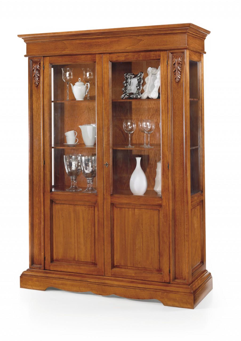 Vetrina classica et484 cucine mobili di qualit al - Bonus mobili iva ...