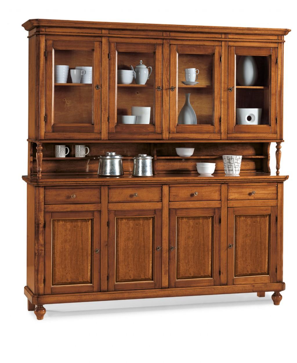 Cristalliera classica et508 cucine mobili di qualit for Mobili cucine qualita