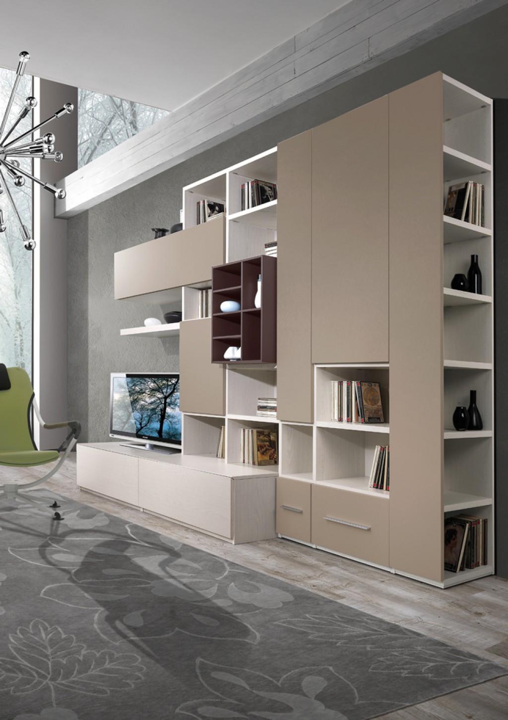 Libreria moderna ig g409 cucine mobili di qualit al for Mobili cucine qualita