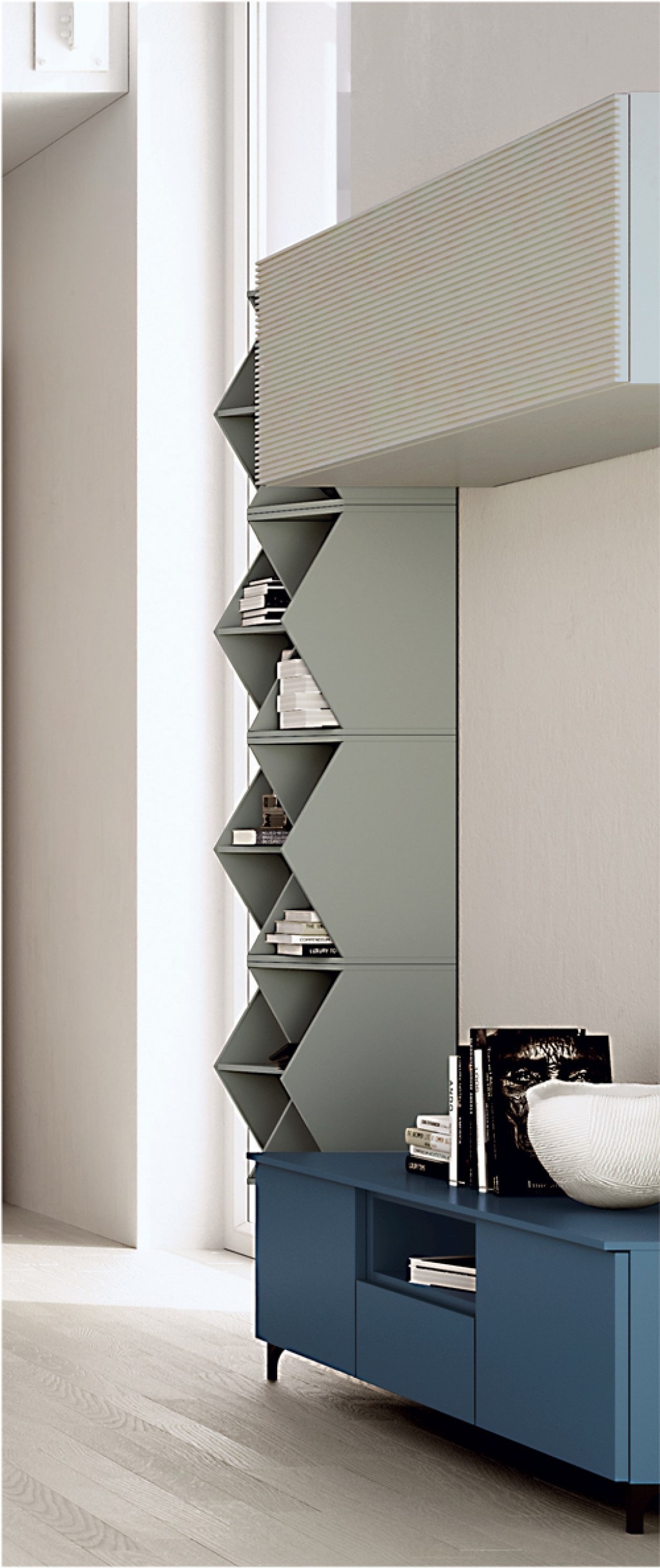 Libreria moderna ig g410 cucine mobili di qualit al for Mobili cucine qualita
