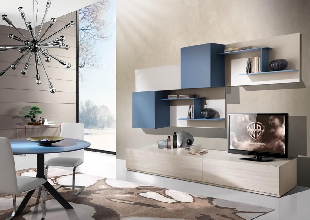 Soggiorno moderno ig g422 cucine mobili di qualit al giusto prezzo milano monza brianza - Mobili soggiorno stosa ...