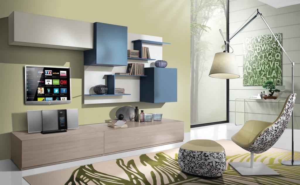 Soggiorno moderno ig g425 cucine mobili di qualit al giusto prezzo milano monza brianza - Mobili soggiorno stosa ...