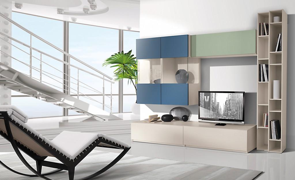 Soggiorno moderno ig g432 cucine mobili di qualit al giusto prezzo milano monza brianza - Mobili soggiorno stosa ...