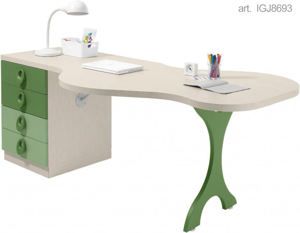 Scrivania lineare igj8693 igj8705 cucine mobili di for Cucine moderne qualita prezzo