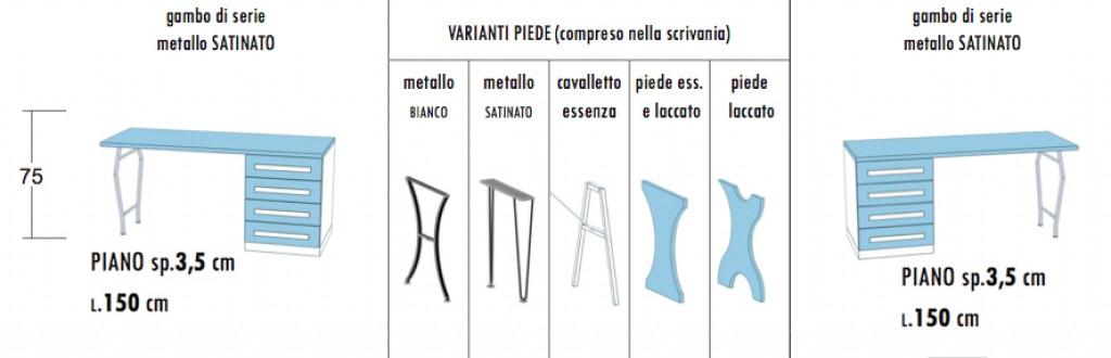 Stosa Cucine Milano : Scrivania lineare igj cucine mobili di