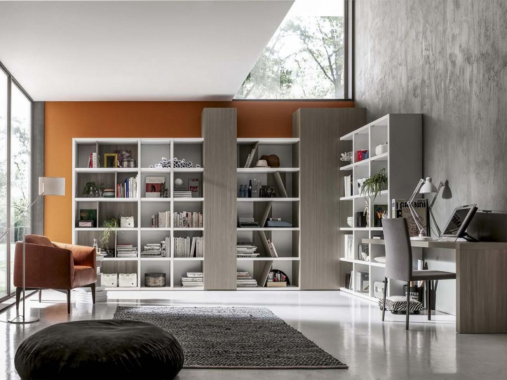 Soggiorno moderno ls gs004 cucine mobili di qualit al for Armadi per salotti