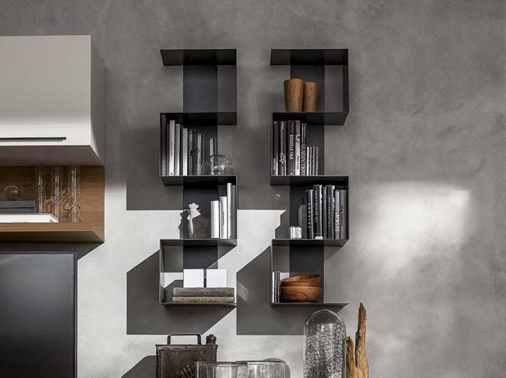 Libreria moderna ls snake cucine mobili di qualit al for Offerte librerie moderne