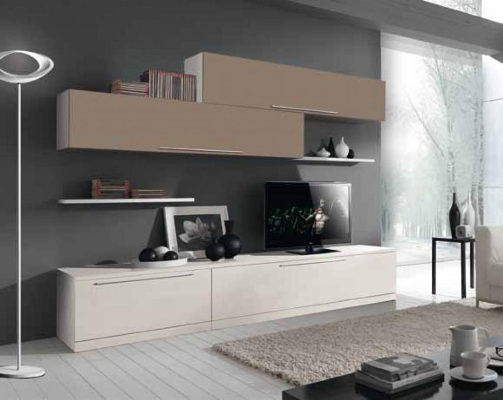 Soggiorno moderno cm st23 st24 cucine mobili di - Mobili on line di qualita ...