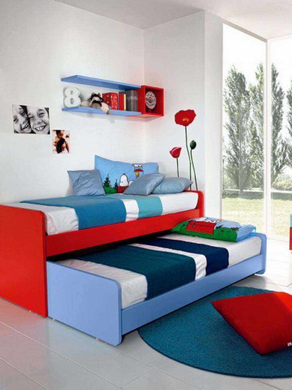Cameretta moderna oc c112 cucine mobili di qualit al for Acero rosso milano