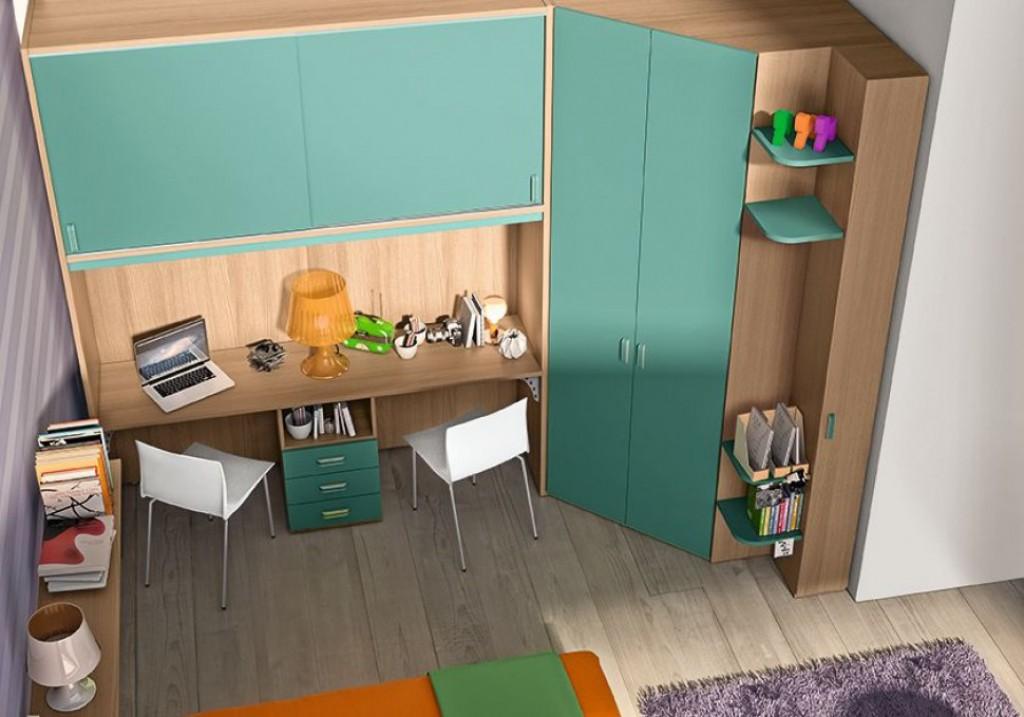 Cameretta moderna oc c131 cucine mobili di qualit al for Mobili cucine qualita