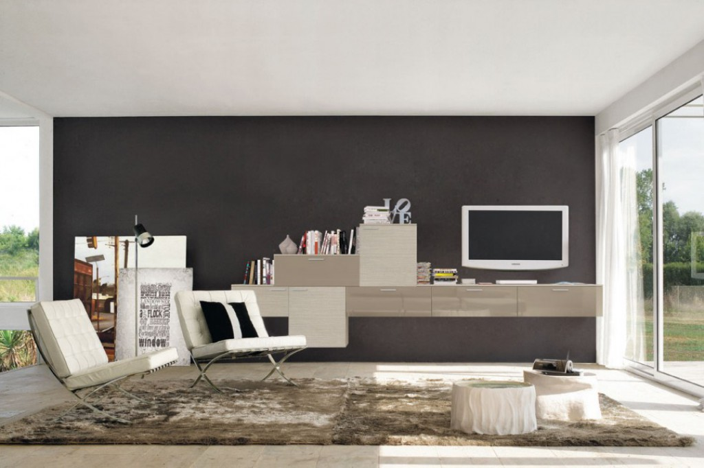 Soggiorno Moderno A Milano.Soggiorno Moderno Oc L118 Cucine Mobili Di Qualita Al Giusto