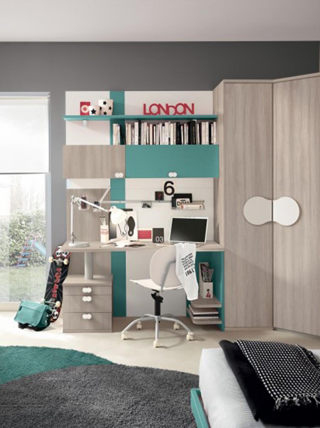 Cameretta moderna oc g c117 cucine mobili di qualit for Crea la tua cameretta