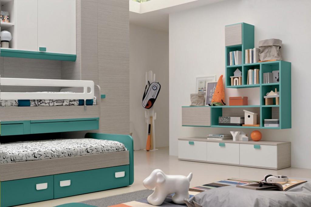 Cameretta moderna oc g c154 cucine mobili di qualit for Nuovo arredo camerette prezzi